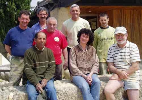 Équipe de la Carrière la Pierre du Pont du Gard